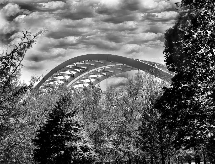 Storm Over The Bridge